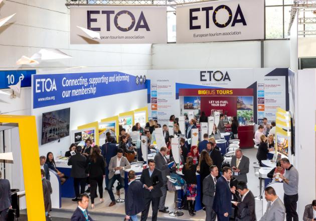 ETOA ITB stand premium location