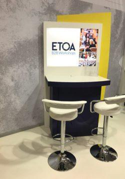 ETOA stand at ITB Berlin - premium desk