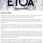 ETOA Newsletter February 2019