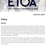 Operators Update February 2019