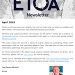 ETOA Newsletter April 2019