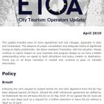 Operators Update April 2019