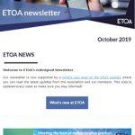 ETOA Newsletter October 2019