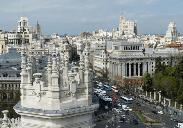 Destinations Madrid Transport