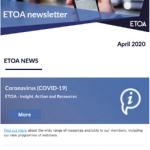 ETOA newsletter april 2020