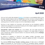 ETOA policy update April