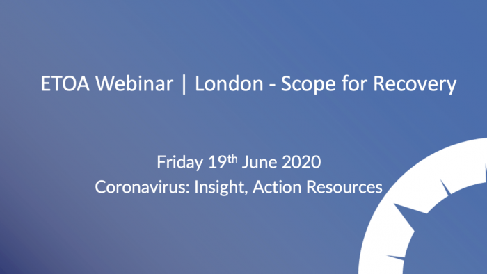 ETOA Webinar - Scope for Recovery