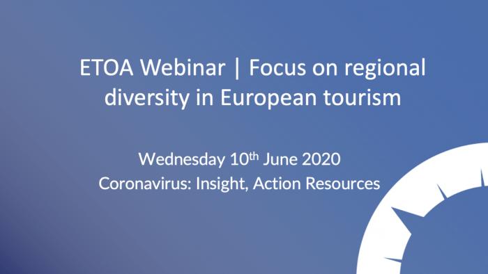 ETOA Webinar - regional diversity in Europe