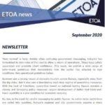 ETOA Newsletter - September 2020