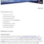 ETOA Newsletter April 2021